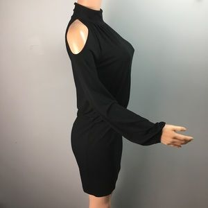 INC International Concepts Dresses - INC international concept cold shoulder dress
